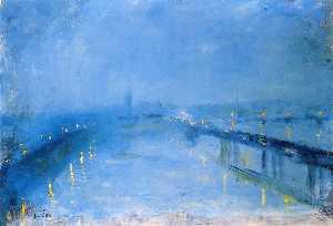 Thames Bridges in the Twilight (also known as London Bridge)