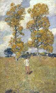The Two Hickory Trees (also known as Golf Player)