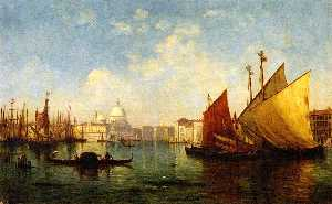 Venice (also known as Morning Scene on the Guidecca, Mouth of the Grand Canal)