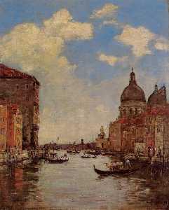 Venice, the Canal de la Gandara