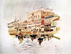 Venice. The Doge's Palace