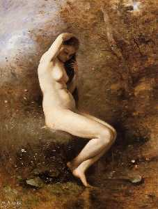 在金星 她  浴