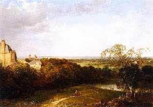 View Toward London from Hampstead Heath