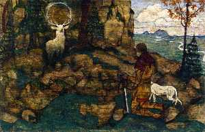 The Vision of St. Hubert
