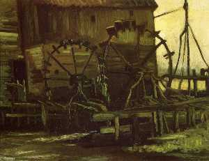 Water Wheels of Mill at Gennep