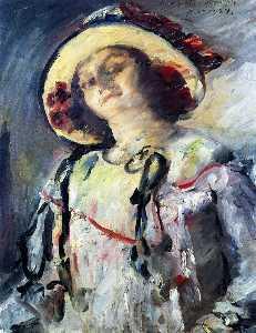 Wilhelmine in a Yellow Hat