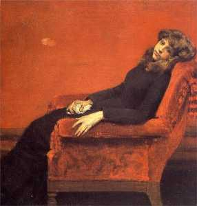The Young Orphan, Study of a Young Girl (also known as At Her Ease)