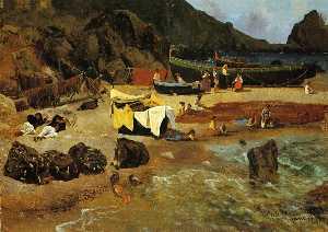 Рыбацкие лодки года в  Капри