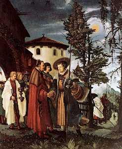 The Departure of Saint Florain