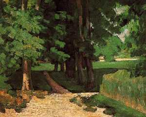 Lane of Chestnut Trees at the Jas de Bouffan