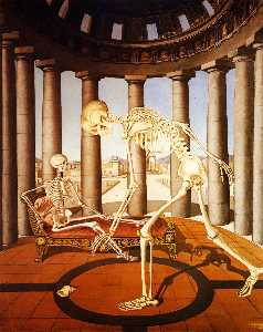 The skeleton has the shell