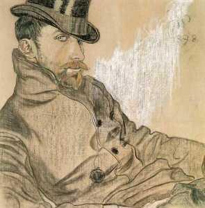 Portrait Of Kazimierz Lewandowski