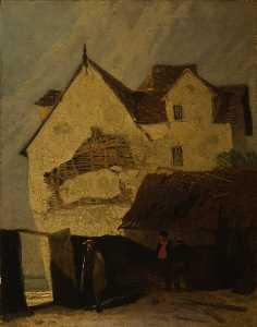 Old Houses At Gorleston, Norfolk