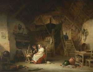 Interior, Girl Spinning
