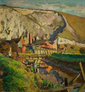Lewes Landscape, East Sussex