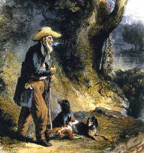 The Great Traveller Charles Alexandre Lesueur In The Forest