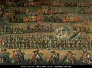 The Arrival Of Isabella Of Parma On The Occasion