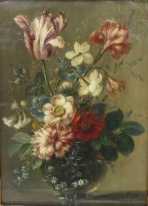 Vase De Fleurs Par Belin De Fontenay