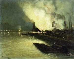 Factories At Night -