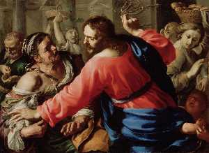Christ Cleansing The Temple