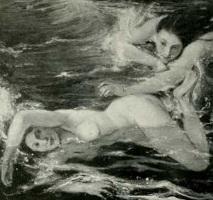 The Pursuit - Nudes Swimming