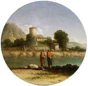 Landscape With Christ And Saint John The Baptist