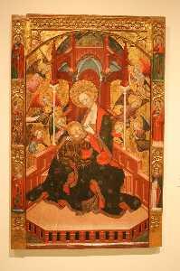 Virgin Feeding The Child. By Ramon De Mur