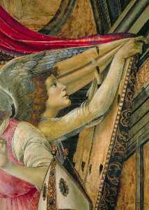 Detail Of Angels From The Altarpiece Of San Barnaba