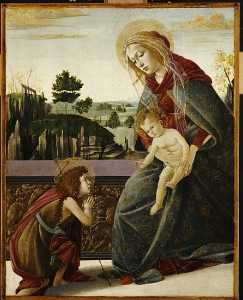 The Madonna And Child With The Young St. John The Baptish