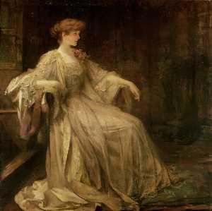 Portrait Of Violet, Duchess Of Rutland