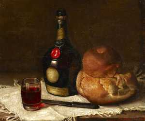 Still Life With A Bottle Of Benedictine
