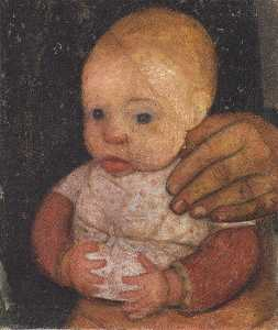 Infant With Mother's Hand