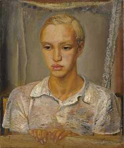 Portrait Of The Artist's Son Kirill