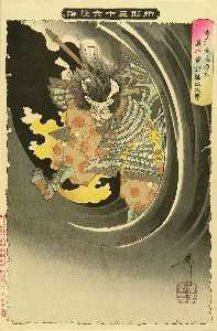 The Ghost Of Wicked Genta Yoshihira Attacking Mamba Jiro