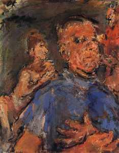 Autoportrait, Self-portrait, Huile sur Toile,