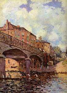 The bridge at Hampton Sun