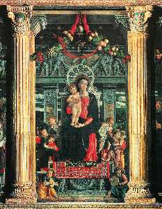 san zeno altarpiece (detail) -
