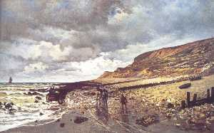 The Headland of the Heve at Low Tide