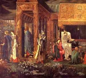 The Sleep of Arthur in Avalon (detail)