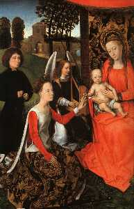 the marriage of st. catherine (detail)