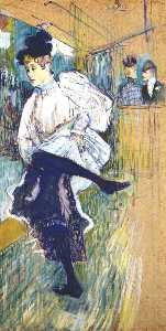 jane avril dancing