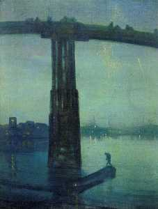 Nocturne in blue and green