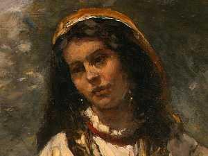 Gypsy Girl with Mandolin )
