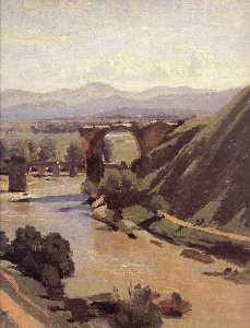 The Augustan Bridge at Narni (detail)
