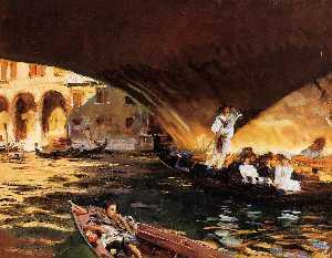 The Rialto (Grand Canal)