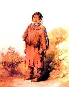 Piegan Blackfeet girl