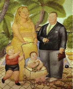 Frank Lloyd et sa famille à paradise island