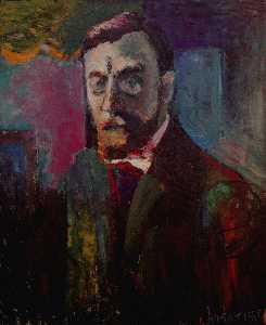 Autoportrait Huile sur Toile Paris, Musée National d'Art Moderne