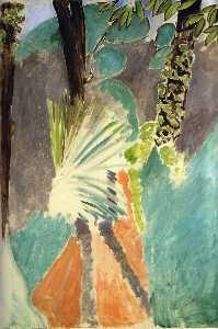 La Palme Huile sur Toile Washington, National Gallery of Art
