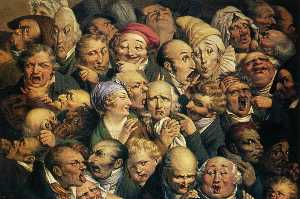 Meeting of thirty-five heads of expression (Réunion de trente-cinq têtes d'expression)